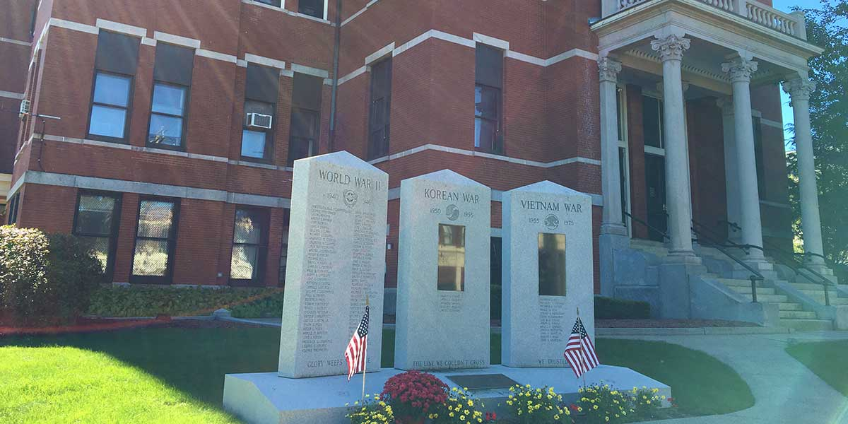 Peabody City Hall and War/Veterans Memorials